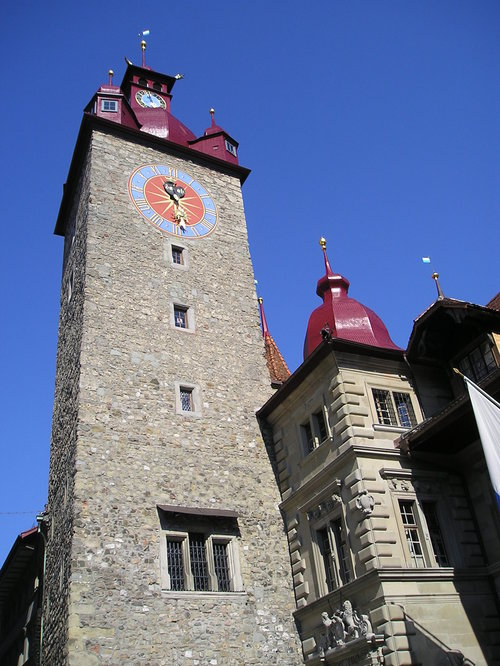 Old Town Hall -- Lucerne, Switzerland