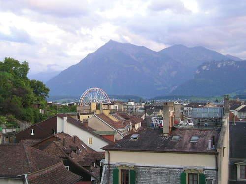 Overlooking Thun -- Thun, Switzerland