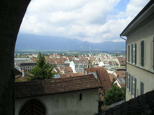 Overlooking Thun -- Thun, Switzerland