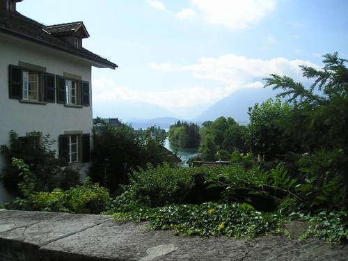 Overlooking Thunersee  -- Thun, Switzerland