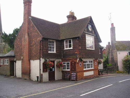 Typical English Pub -- Cuckfield, England