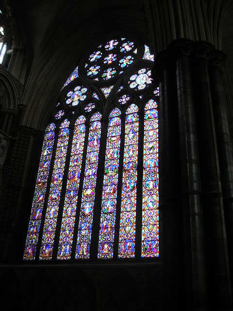Inside Lincoln Cathedral -- Lincoln, England