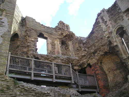 Ruins from Newark Castle -- Newark, England