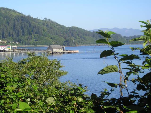 Garibaldi Bay -- Garibaldi, Oregon