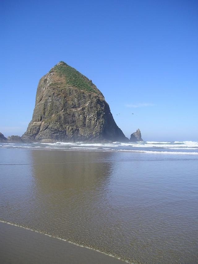 Haystack Rock at Cannon Beach -- Oregon