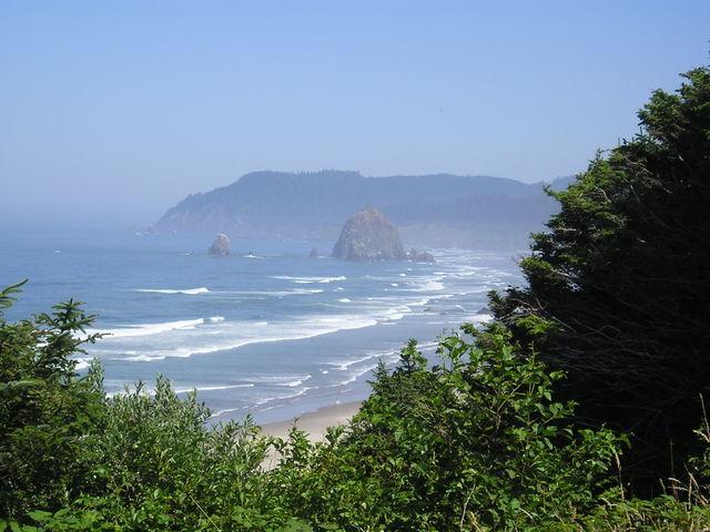 Cannon Beach Coastline -- Oregon
