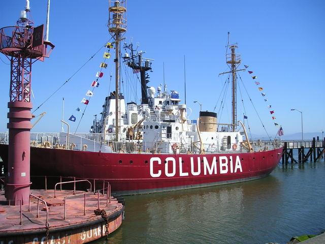 Columbia ship -- Astoria, Oregon